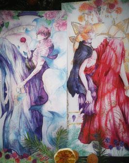A3 Yokai Canvas Set