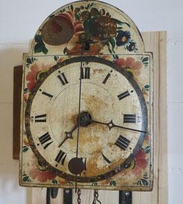 Entlebucher Kuhschwanz-Uhr, Surer Schlagwerk, antik um 1820