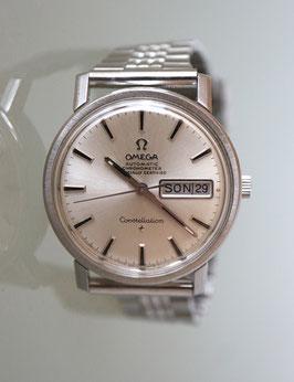 Omega Constellation Chronometer in Edelstahl, Automatik, Vintage 70er Jahre