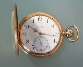 Taschenuhr Zenith 18 Karat Gold, Grand Prix Paris 1900