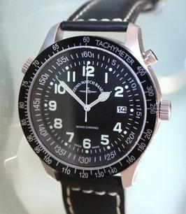 Zeno Watch Minutes Timer Monochrono (Monopusher) – Limitierte Edition - 2 Jahre Garantie