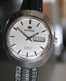Mikado Automatic Herren, mit Datum, Stahl