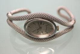 Diarex Damen Spangen-Armbanduhr Handaufzug Silber, Artikel Nr. 1056