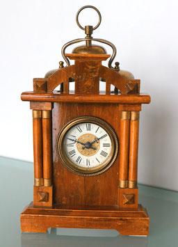 Franz. 3-Glocken Wecker, antik, ca. 1890