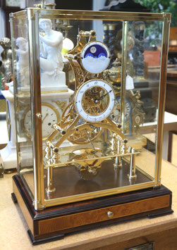 Nachbau Wiener Uhr (nach Franz Denk, Wien) mechanisch mit Kette und Schnecke