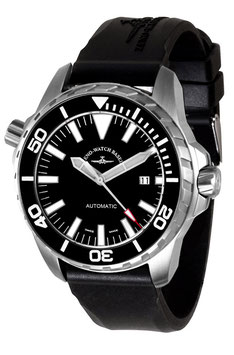Zeno Watch Professional Diver Pro Diver 2 schwarz - Automatik - 2 Jahre Garantie, inkl. Uhrenbeweger!