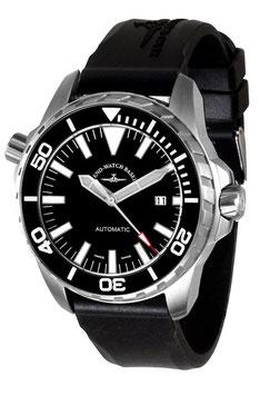 Zeno Watch Professional Diver Pro Diver 2 schwarz - Automatik - 2 Jahre Garantie