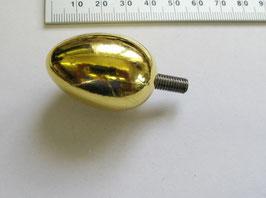 Pendulen Zierzapfen vergoldet gross