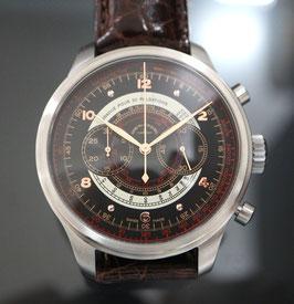 Zeno-Watch Basel OS Retro Chronograph Dubois-Depraz Pulsometer - 2 Jahre Garantie