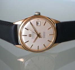 Tissot Automatik Seastar, Swiss Made, 1967-72, vergoldet