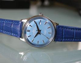 Zeno Watch Jules Classic Automatik Blau - limitiert - 2 Jahre Garantie