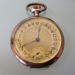 """Taschenuhr """"La Vingtquatre"""", swiss made, ca. 1930, 800er Silber"""