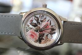 Edouard Lauzières - Limitierte Edition - Romantic Rose - Automatik mit Datum