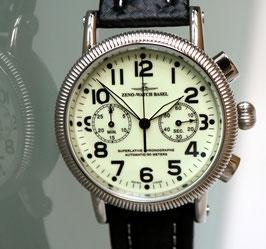 Zeno Watch Nostalgia Lumi Chronograph 2030 - 2 Jahre Garantie