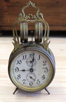 Wecker Badische Uhrenfabrik, antik ca. 1875