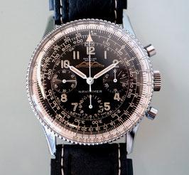 Breitling Navitimer Stahl Handaufzug Schaltrad Chronograph Kaliber Venus 178, Jahrgang ca. 1955
