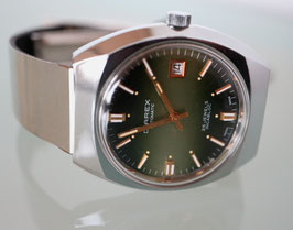 Diarex Automatik Stahl, mit Datum, Swiss Made, Jahrgang 1975-1980