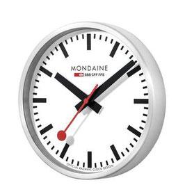 Mondaine Wanduhr 25cm, 2 Jahre Garantie