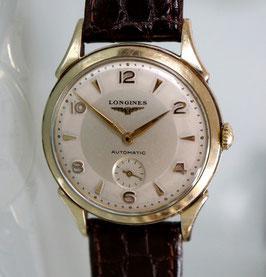 Longines Classik Automatik mit kleiner Sekunde, vergoldet, 50er Jahre