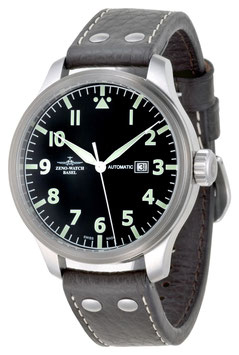 Zeno Watch Pilot Oversized Navigator Automatik - 2 Jahre Garantie