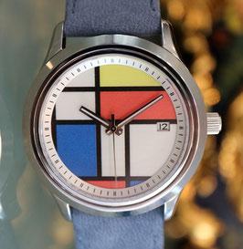 Edouard Lauzières - Limitierte Edition - Mondrian - Automatik mit Datum