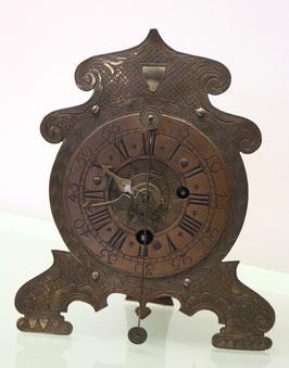 Antiker Vorderzappler, Eisengehäuse, mit Wecker