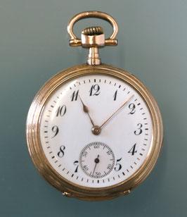 IWC Damen-Taschenuhr 0,585 Gold, 1908