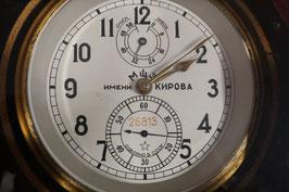 Kirova Russischer Marine Schiffs-Chronometer mit Reg. Nr. 26813