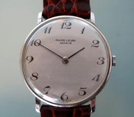 Fabre-Leuba Armbanduhr Stahl, Swiss Made