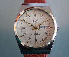 Lanco Herren-Armbanduhr, Automatik Stahl, Swiss Made