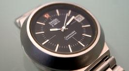 Omega Electronic f300 Hz Stimmgabel Seamaster Chronometer, Edelstahl, 70er Jahre