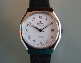 Barone Genève Armbanduhr, Handaufzug Stahl, Swiss Made