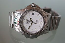 Tag Heuer Professional Automatic 200 meters, mit Stahlband, 90er Jahre
