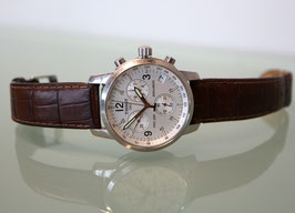 Tissot PRC 200 Chronograph, mit original Lederband braun