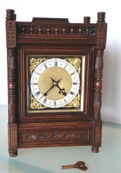 "Bracket Clock ""Winterhalder & Hofmeier"", Schwärzenbach (Schwarzwald), antik ca. 1880"