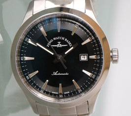 Zeno Watch Event Gentleman Automatik schwarz - 2 Jahre Garantie