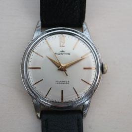 Fortis Herren-Armbanduhr, 1960er Jahre, Handaufzug, Swiss Made
