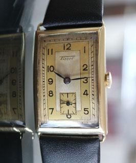 Vintage Tissot Antimagnetisch, 14 Karat Gold, ca. 1935