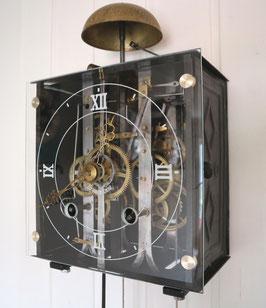 Comtoise antik mit neuem Glaszifferblatt