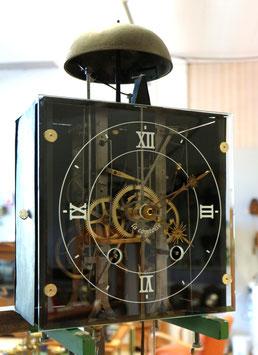 Comtoise antik mit neuem Glaszifferblatt, komplett revidiert mit  1 Jahr Garantie *** RESERVIERT ***