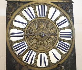 Einzeiger Comtoise Uhr - 18. Jahrhundert
