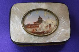 Antikes Mini-Portemonnaie anlässlich der Weltausstellung Wien von 1873