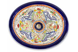 """Mexikanisches Waschbecken """"Dana"""" (oval, medium) #ANG-1120-6"""