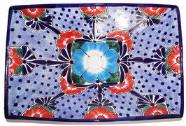 Mexikanisches Aufsatzwaschbecken (rechteckig) #AMB-013-10