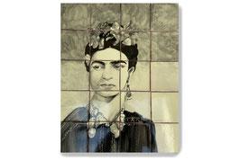 "Fliesen Wandgemälde ""Frida"" #TIL-3004"