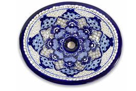 """Mexikanisches Waschbecken """"Dana"""" (oval, medium) #ANG-1120-10"""