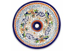 Mexikanisches Aufsatzwaschbecken (rund, medium) #ANG-1118-8