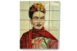 "Fliesen Wandgemälde ""Frida"" #TIL-3005"