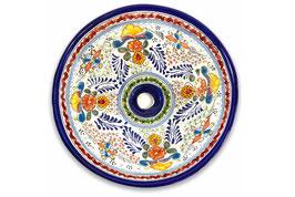 Mexikanisches Aufsatzwaschbecken (rund, medium) #ANG-1118-7