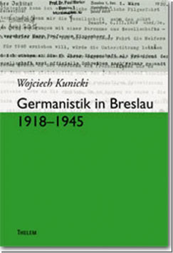 Germanistik in Breslau 1918-1945